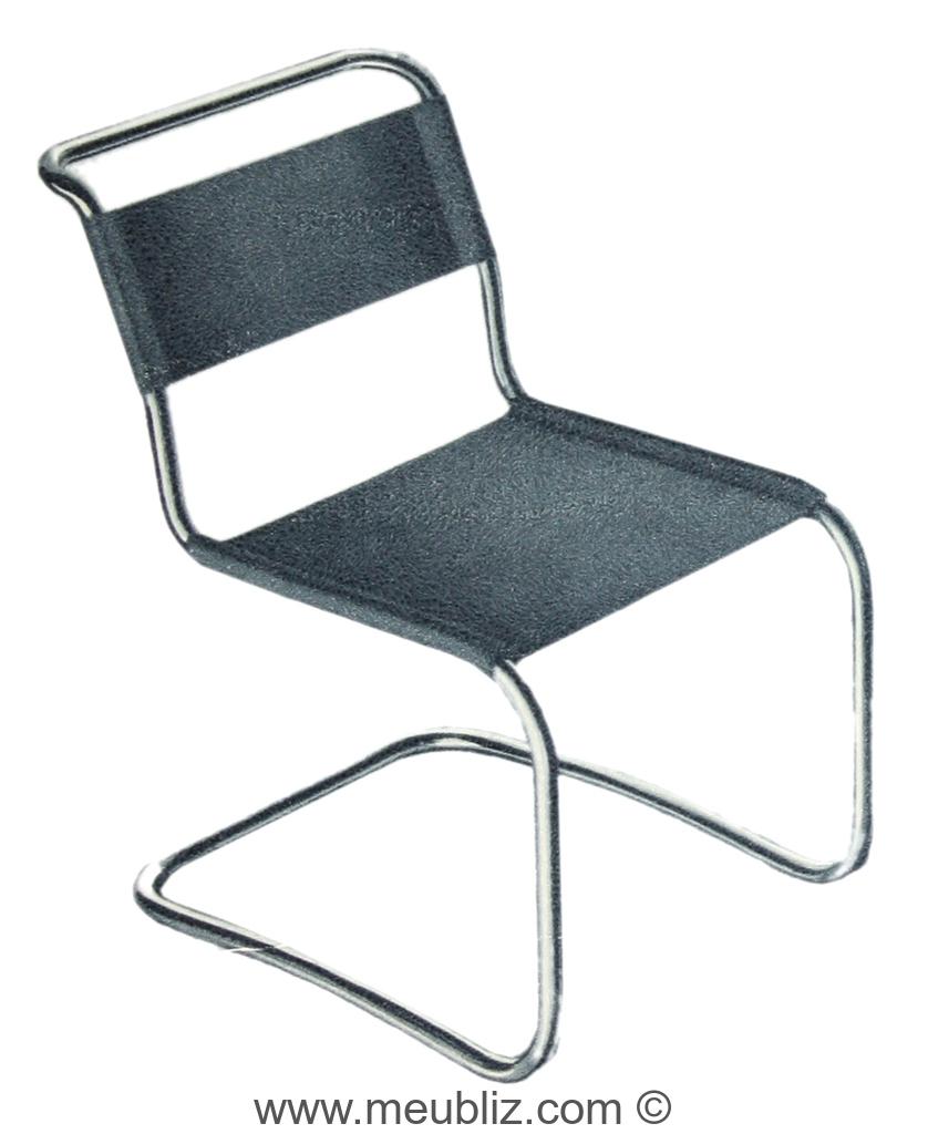 Chaise B33 De Marcel Breuer Pour Thonet