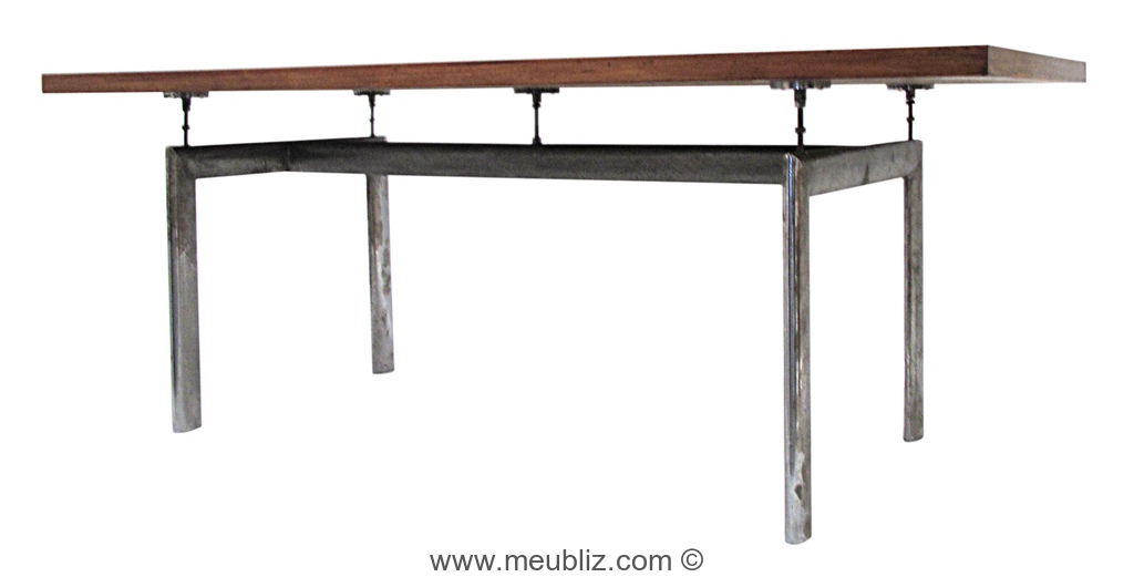 High Quality Table LC6 Par Le Corbusier Et Charlotte Perriand Et Pierre