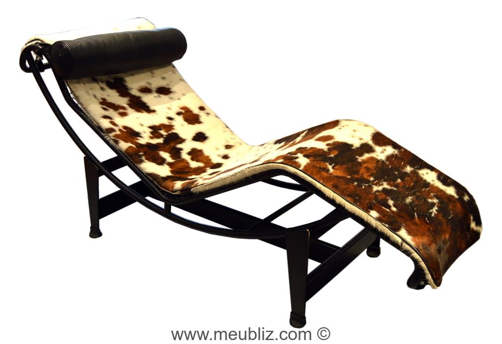 chaise longue lc4 bascule mod le b306 par le corbusier et charlotte perriand et pierre. Black Bedroom Furniture Sets. Home Design Ideas